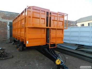 Прицеп тракторный зерновоз 2 ПТС-4, 2ПТС-6, НТС-16, НТС-10, НТС-9