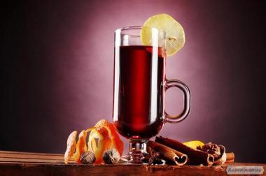 Вино для глінтвейну (домашнє)