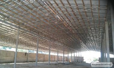 Ангары зернохранилища проектрирование и строительство Быстровозводимые