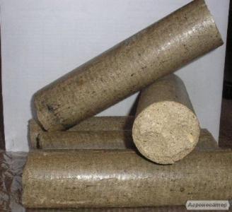 Топливные брикеты из древесины, євродрова для котлов