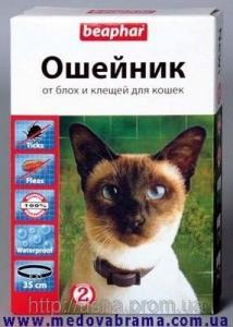 Нашийник від бліх та кліщів для кішок БІФАР 35 см