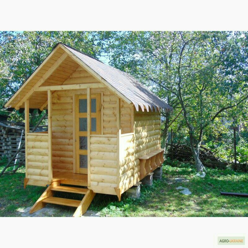 Апи-домик Модель №3 (крыша двухскатная + веранда)
