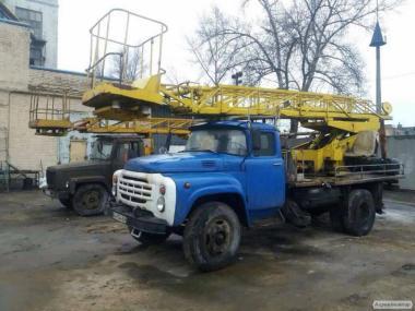 Аренда автовышки, автокрана, грузоперевозки в Киеве и области