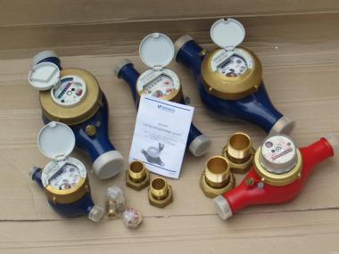 Счетчик воды,лічильник води,водомер, Ду 20,25,32,40,50 (муфтовый).