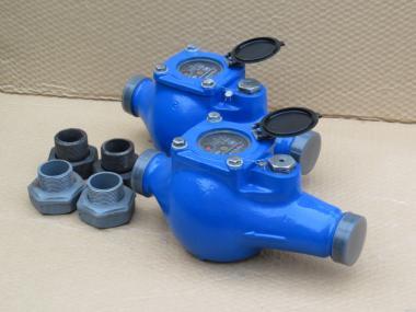 Лічильник води,лічильник води,водомір, Ду 20,25,32,40,50 (муфтовий).