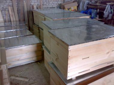 Вулики-лежаки на 20 рамок Дадана