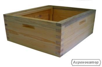 Комплектуючі для вуликів-корпус на рамку 230 мм (Дадан)