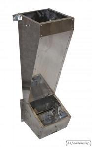 Бункерна годівниця для відгодівлі свиней, свиноматок або кнурів