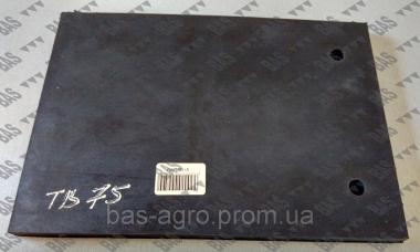 Захисна гумова пластина ножа фрези 160мм Geringhoff 511361