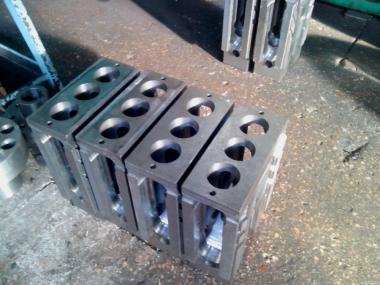 Штампи для пресів СМС 152 для виробництва силікатної цегли