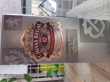 Продам шотландский виски Chivas Regal 12-ти летней выдержки, 1 л.