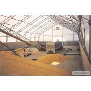Зернохранилища напольного и бункерного хранения