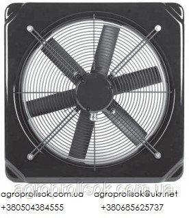 Осьові вентилятори Deltafan 355/R/3-6/35/230 однофазні