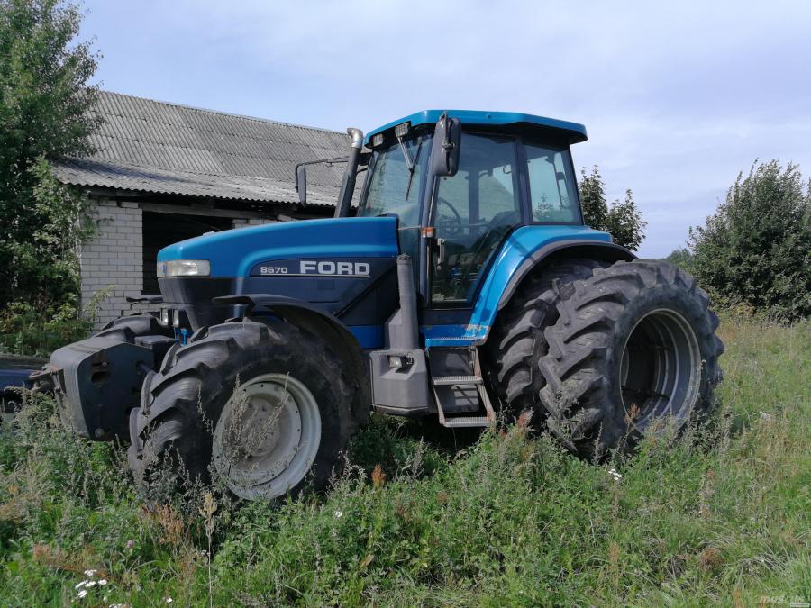 Ремонт гидравлики тракторов FORD