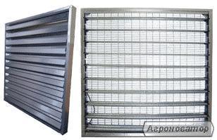 Припливні жалюзі для припливу повітря 1380*1380 мм
